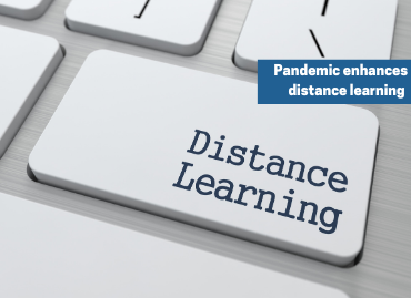 How has social distancing transformed distance learning?
