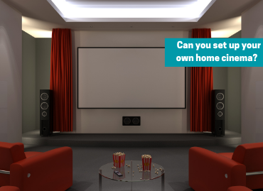 How easy is it to set up a home cinema system?