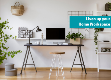 Working from home – set-up looking tired? Here's how to liven things up