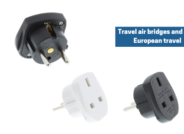 Travel air bridges and European travel